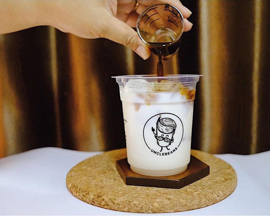 Kopi susu dengan brown sugar yang cukup hits. (Foto: Unclebeans)