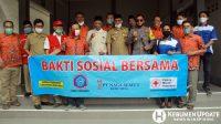 Wabup Arif Sugiyanto berpose bersama dengan pengurus PSMTI. (Foto: Padmo-KebumenUpdate.com)