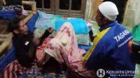 Salah satu korban selamat istirahat di rumahnya. (Foto: istimewa)