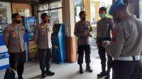 Kapolres Kebumen AKBP Rudy Cahya Kurniawan didampingi Wakapolres Kompol Subagyo melakukan sidak di ruang pelayanan publik. (Foto: Polres Kebumen)