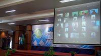 Ketua Panitia JFBA Purna Studi Putra Agina WS menyampaikan laporan. (Foto: Istimewa)