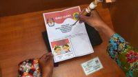 Contoh surat suara paslon tunggal. (Foto: CNNIndonesia)