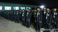 Para warga baru Perguruan Pencak Silat PSHT menjalani wisuda. (Foto: Istimewa)